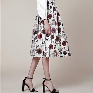 New- Jill Stuart Resort Collection 2015 Silk Skirt